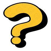 Kysymys, Mark, Välimerkit, Symboli