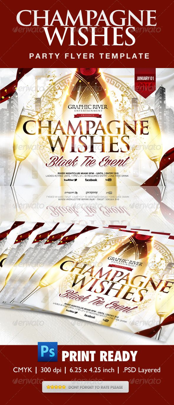 best images about print templates fonts flyer champagne wishes flyer template graphicriver champagne wishes flyer for christmas new years or any