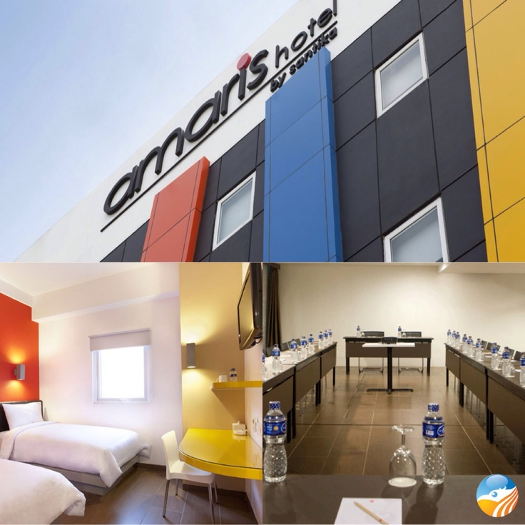 Colorful modern style, Amaris Hotel Cihampelas, Bandung, West Java, Indonesia, ⭐⭐ Hotel.