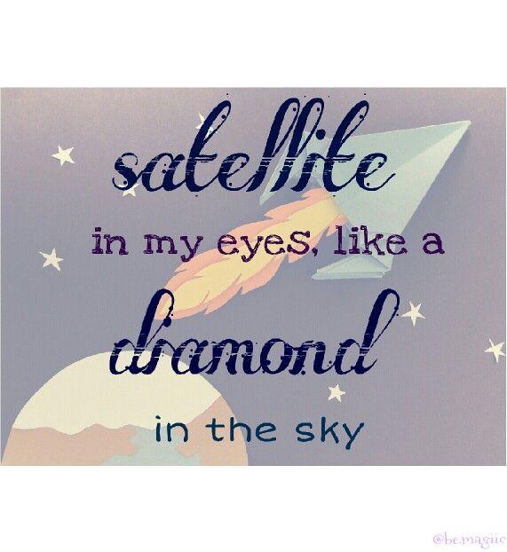 #Satellite #mika #text #penniman