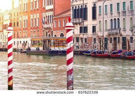 Venezia: il Canal Grande al tramonto.