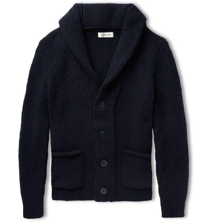 Simon Miller Shawl-Collar Knitted-Cashmere Cardigan | MR PORTER