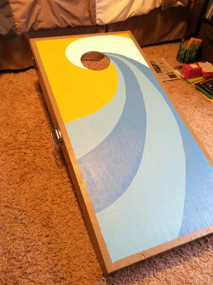 Corn Hole Boards Cute For Cookouts