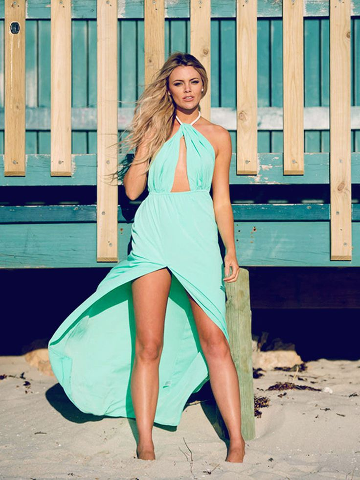 Our Gizelle Maxi in MINT has just landed online