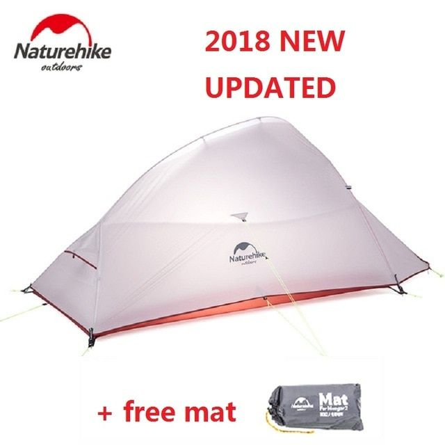 Naturehike 2018 New Cloud Up 2 Updated Version Outdoor 2 Person
