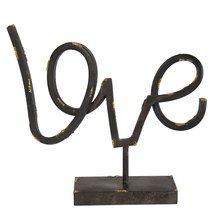 Décor « Love » - Noir mat