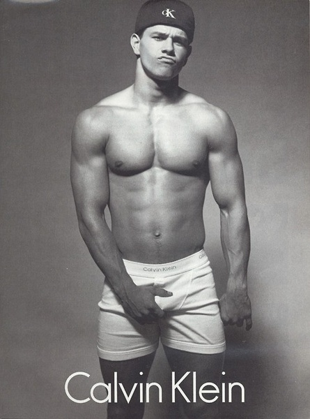 I know I bought more Calvin Klein when Marky Mark was a model LOL!!