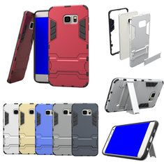 [US$5.64] PC Back Stand Frame Case Cover For Samsung Galaxy S6 Edge Plus  #back #case #cover #edge #frame #galaxy #plus #samsung #stand