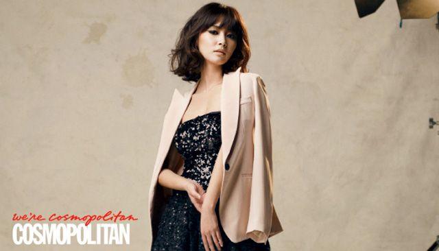 Nam Sang Mi Cosmopolitan Korea Magazine December 2011