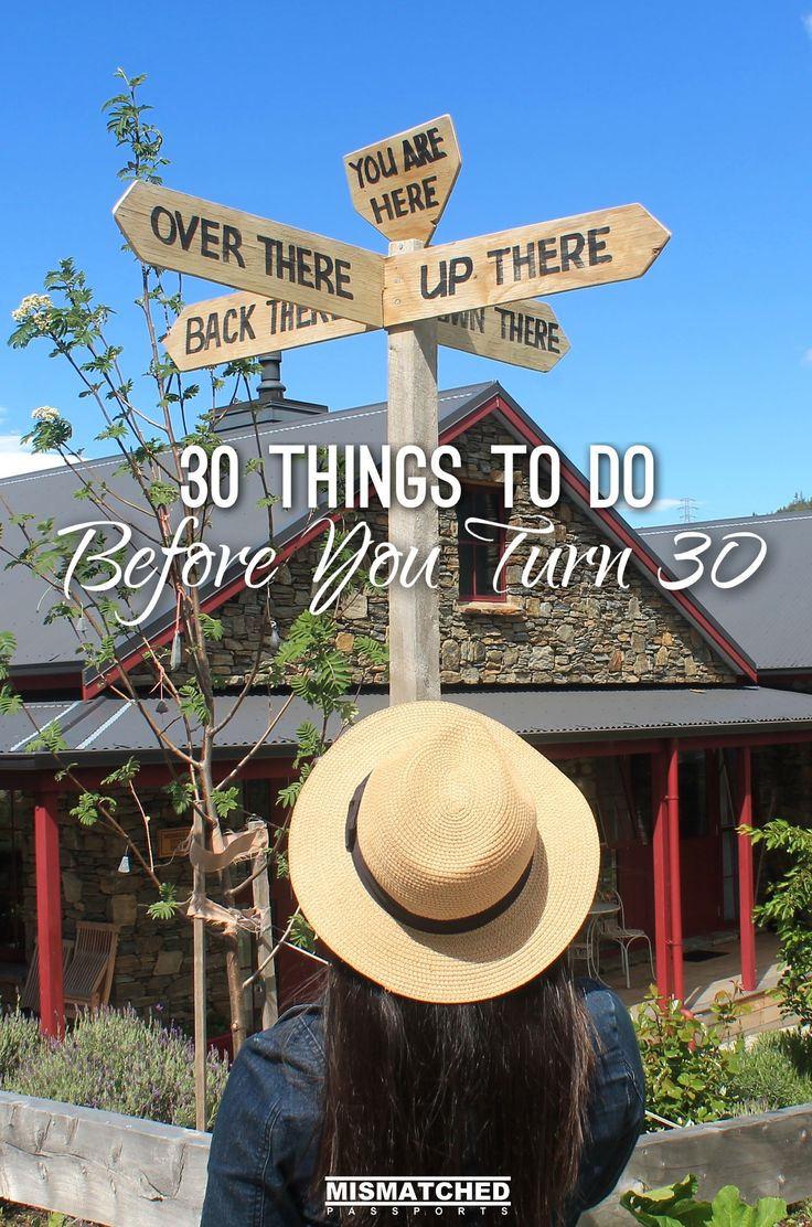 Turning 30 isn't about having everything figured out but about knowing what makes you happy and living the life that you want. From conquering your fears to travelling, here are 30 things to do before you turn 30: