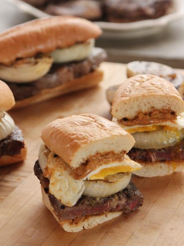 Pioneer Woman Strip Steak Sandwiches Recipe from Food Network