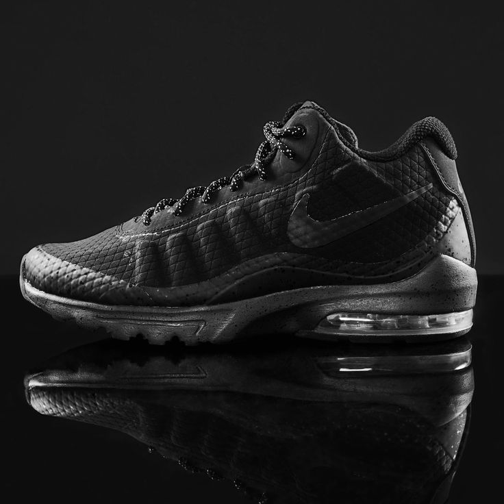 Back to black with the Nike Air Max Invigor Mid Mens Trainers