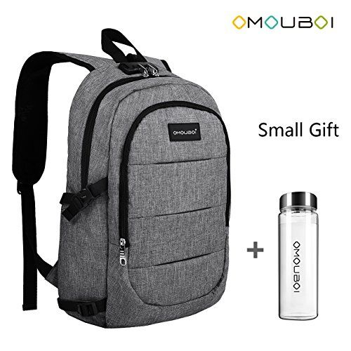 dbd13f69e7d3 New OMOUBOI Laptop Backpack Anti Theft Travel Backpack with Portable Cup  School Computer Bag with USB charging Port online.   20.99  allfashiondress  offers ...