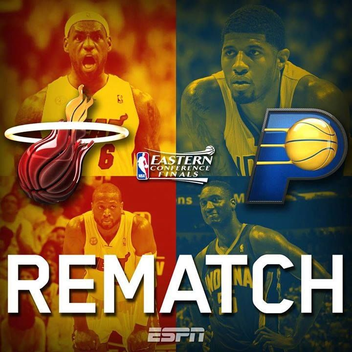 Pacers vs Heat #NBAPlayoffs They Meet Again!