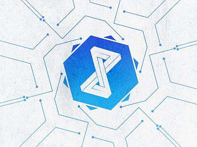 Like the individual elements (lines with dots, penrose shapes, hexagons) it's…