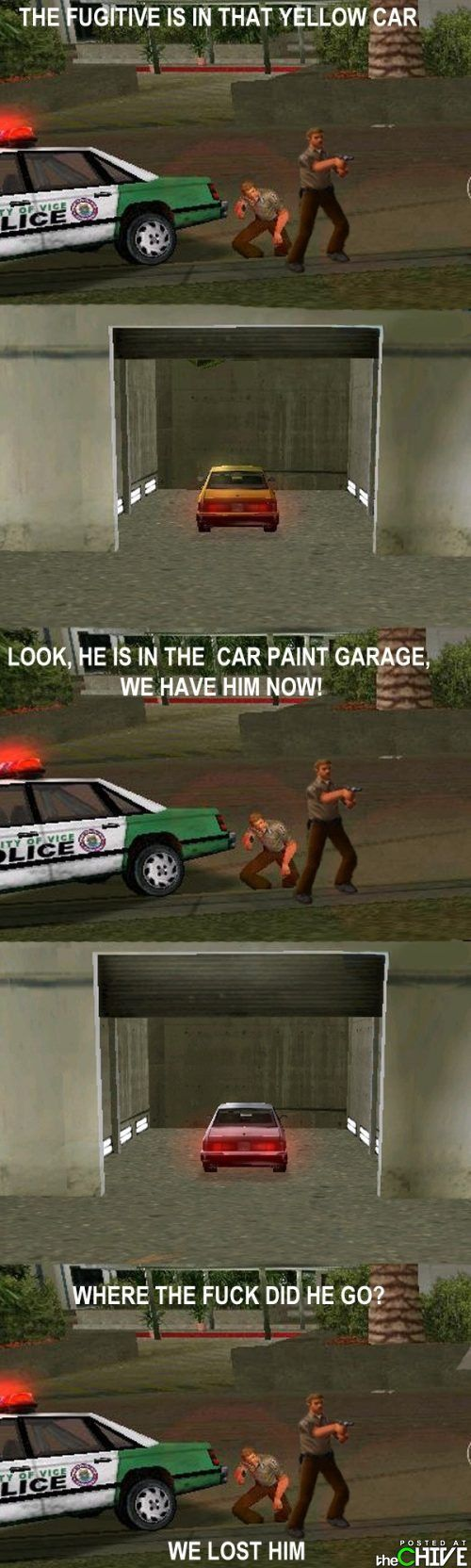 Why we love Grand Theft Auto. Aaw the Vice City good times!