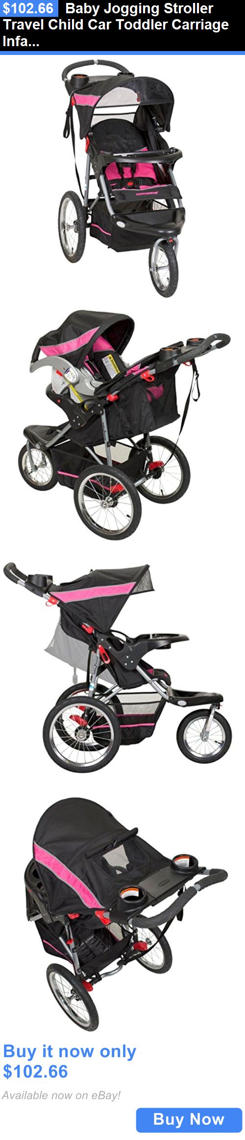 Baby: Baby Jogging Stroller Travel Child Car Toddler Carriage Infant Seat Folding Pram BUY IT NOW ONLY: $102.66