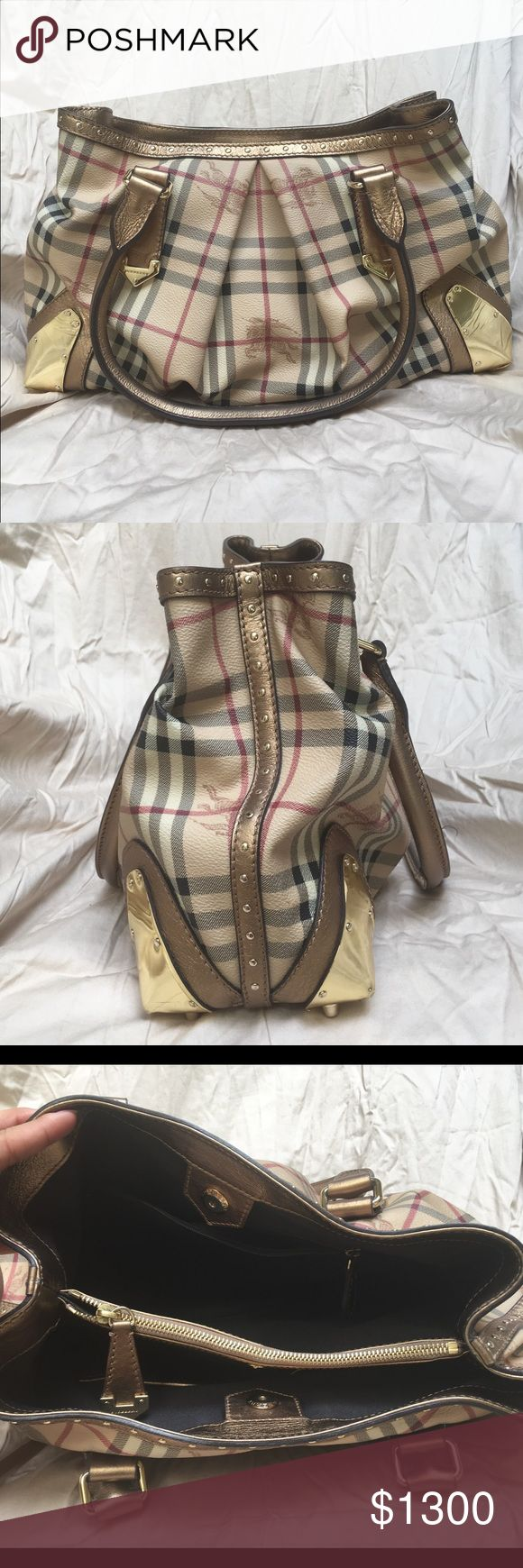 AUTHENTIC Burberry Purse 100% Authentic Burberry Purse with gold accents. Lightly used, No stains or marks. No trades. Burberry Bags