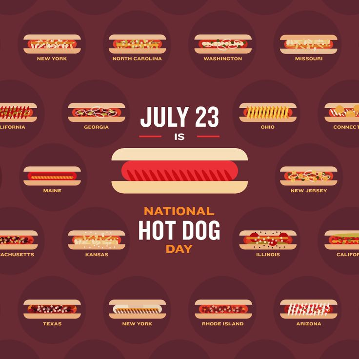 Are Your Buns Ready…For National Hotdog Day? - http://www.fix.com/blog/national-hot-dog-day/