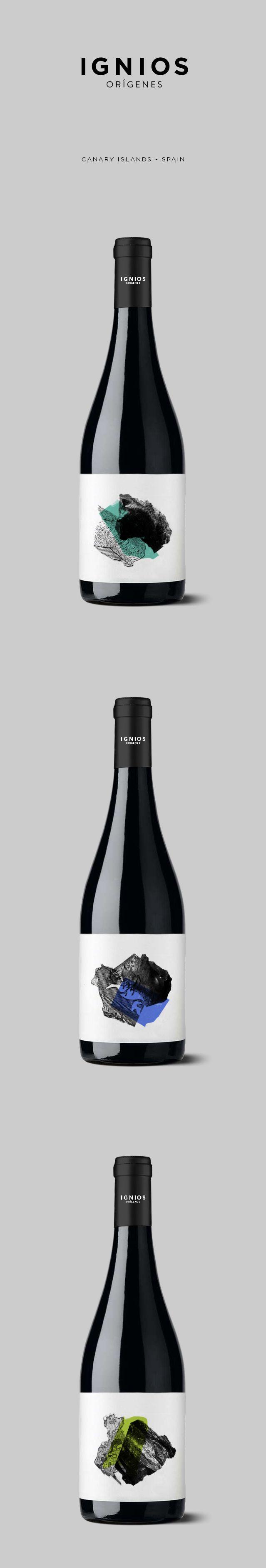 Nos encanta como ha quedado esta familia de vinos con nuestras etiquetas. Ignios Orígenes // identity & packaging // www.dailosperez.com #taninotanino #vinosmaximum