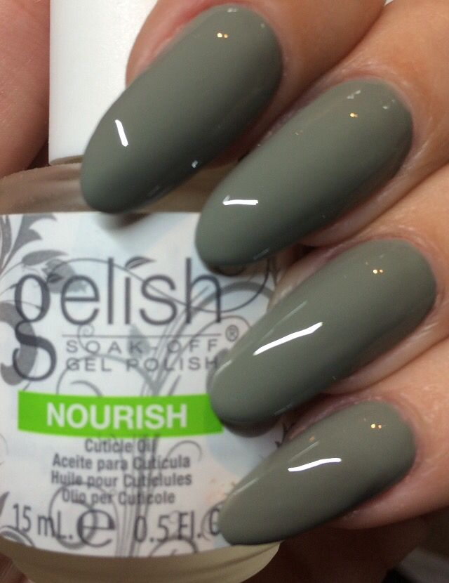 Are you keeping up to date with this years spring summer trends? How about the simple sheek khaki greens Hand & Nail Harmony #ohparachute is perfect