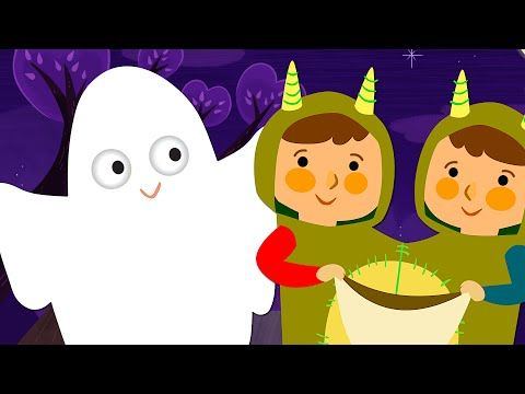 Knock Knock, Trick Or Treat? | Halloween Song | Super Simple Songs - YouTube