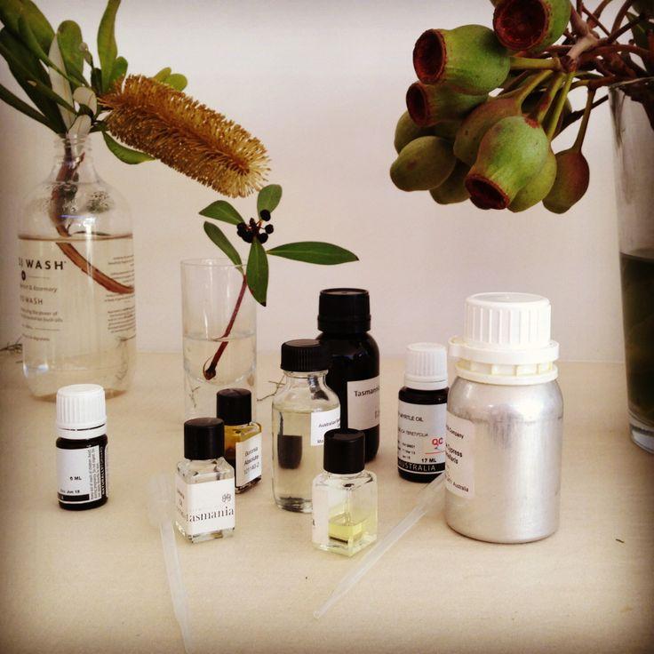 Fragrant essential oils from around Australia.