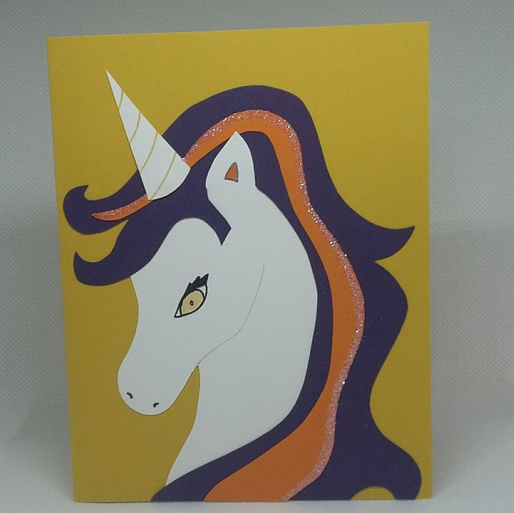 Excited to share the latest addition to my #etsy shop: Unicorn Card http://etsy.me/2Fh0FXa #unicorncard #cutecrystalcreations