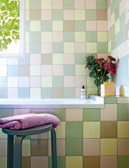 61 best Verrückte Fliesen images on Pinterest Tiles, Flooring - alternative zu küchenfliesen