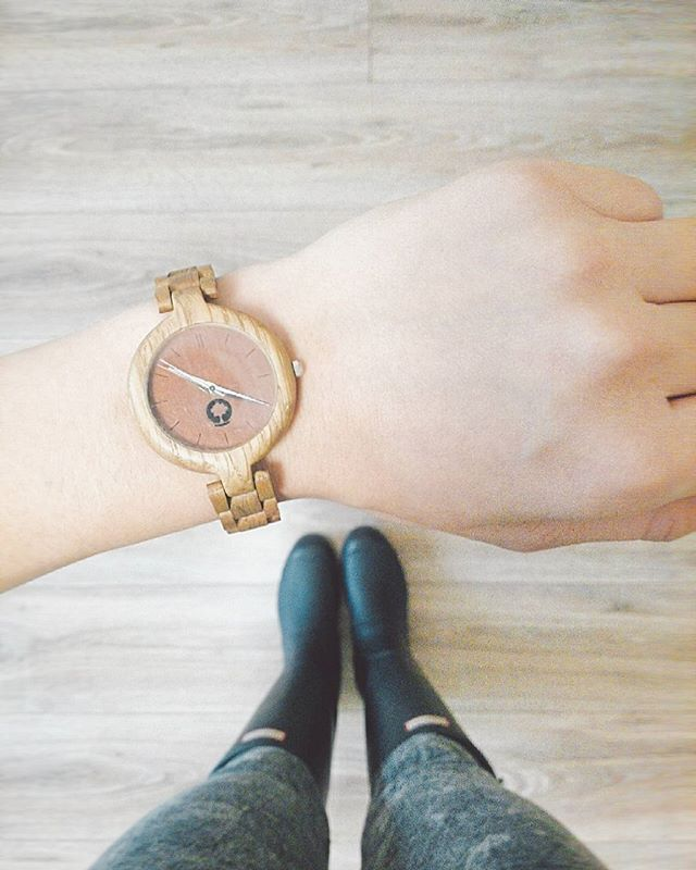 glamour series  ladies' wooden watch || handcrafted by Plantwear