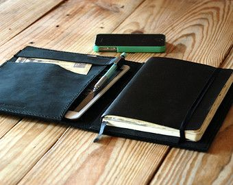 Large Moleskine leather cover. Ipad Mini cover. Moleskine leather case. Agenda cover. Travel gift. Journal cover. Leather notebook cover от JustWanderlustShop