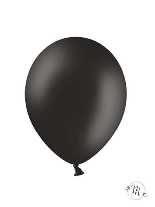 Palloncini classici neri.Dimensioni: 25 cm
