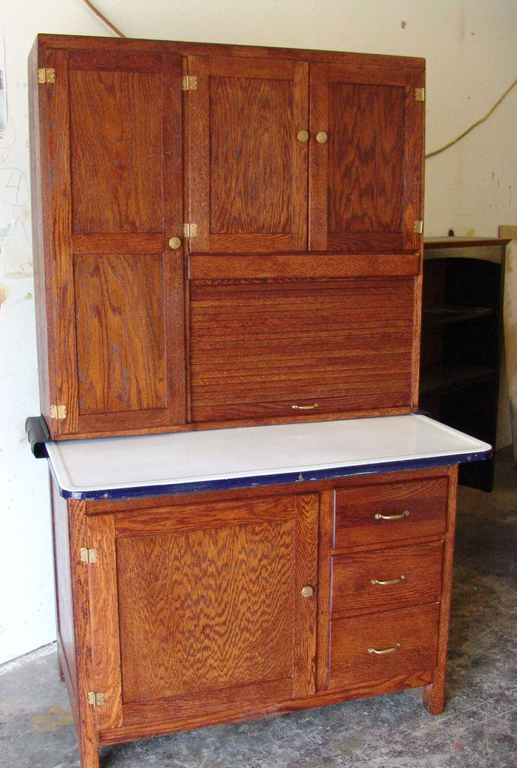 Antique Kitchen Cupboard - Vintage kitchen hoosiers antique kitchen cabinet hoosier after chic cicero furniture repair