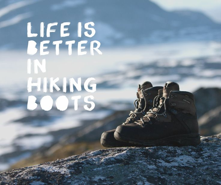 If so, let's take a hike!                                                                                                                                                                                 More