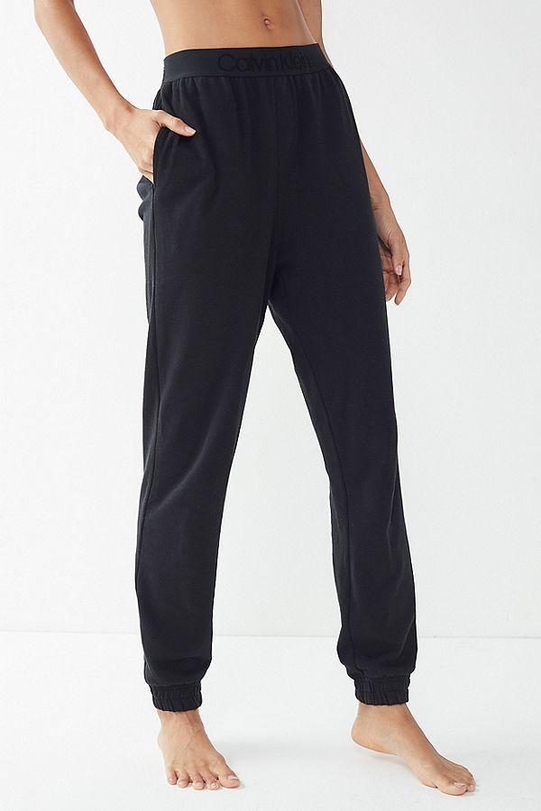 ec18ad049307 Slide View  2  Calvin Klein Tonal Logo Band Jogger Pant