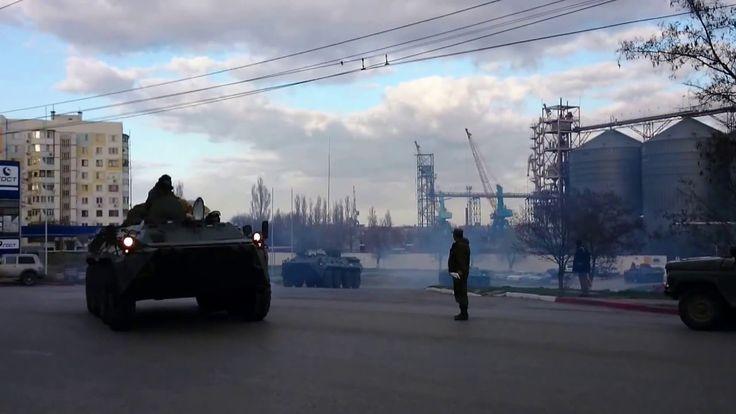 Военная техника.Керчь 2 апреля 2016.