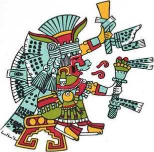 Metztli-Yohualticétl - Diosa de la Luna, la Noche y los Campesinos (Aztec goddess of the Moon, night & peasants)