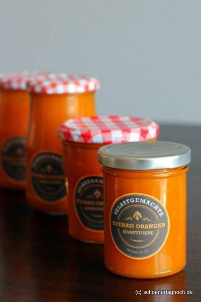Schöner Tag noch!: Kürbis-Orangen-Marmelade