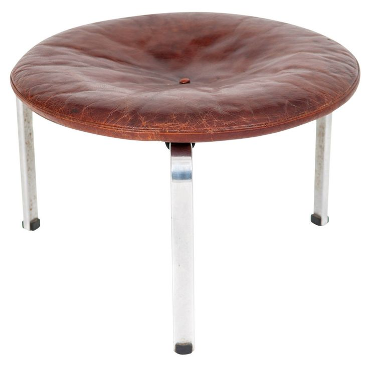 Poul Kj�rholm Pk 33 Stool for E. Kold Christensen