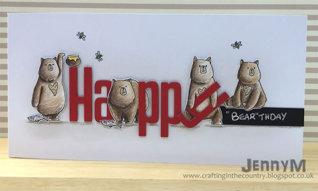 Crafting in the Country: Birthday Bears