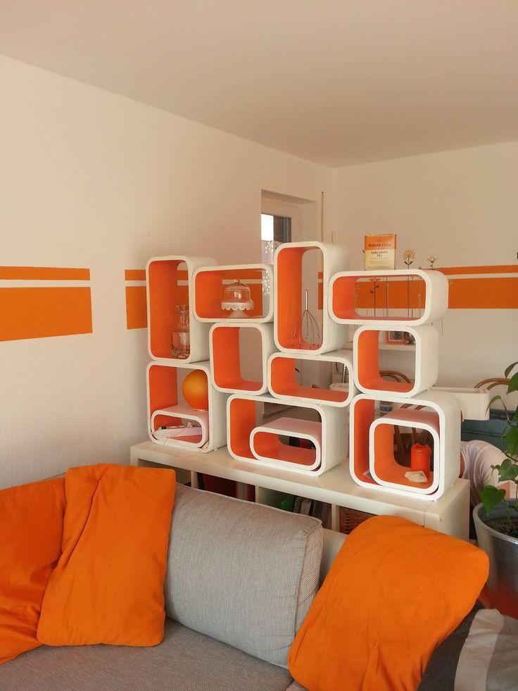 Hier Habe Ich Eine Trennwand Aus Regal  Cubes Gebaut