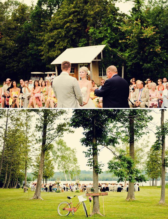 Michigan Summer Wedding Michelle Dave VenuesGreen