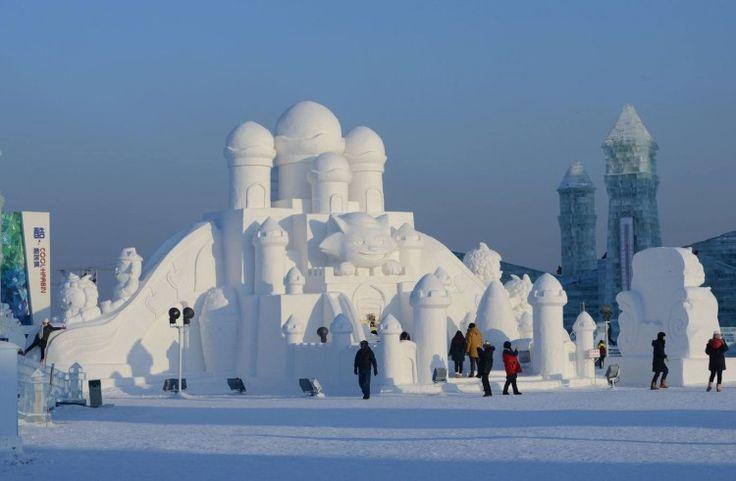 No te pierdas estas asombrosas esculturas de hielo ¡Quedarás impresionado!   Viralistas.com