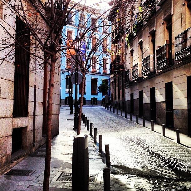 Otra calle de Madrid...