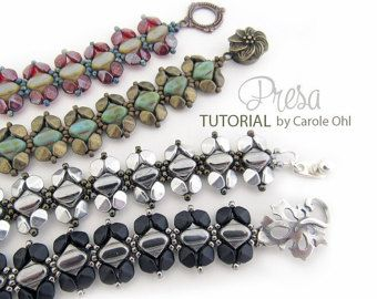 Presa Linda Bracelet Tutorial by Carole Ohl and Linda by openseed
