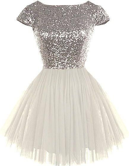 357d5358 sequin short sleeves A-line cute short junior 2018 cheap sparkle homecoming  dress, BD3891