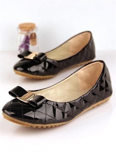 Женские туфли лакированная кожа