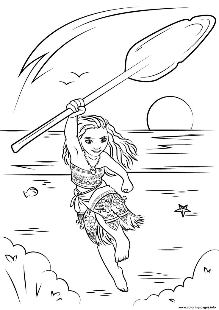 Moana Coloring Page From Category Select 28148 Printable Crafts Of Cartoons Nature Animals Bible And Many More