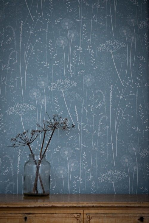 New: Hannah Nunn Wallpaper? The blue for one of the walls in my guest room!