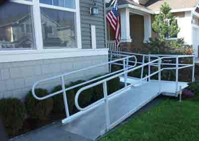 ADA Wheelchair Ramp for home